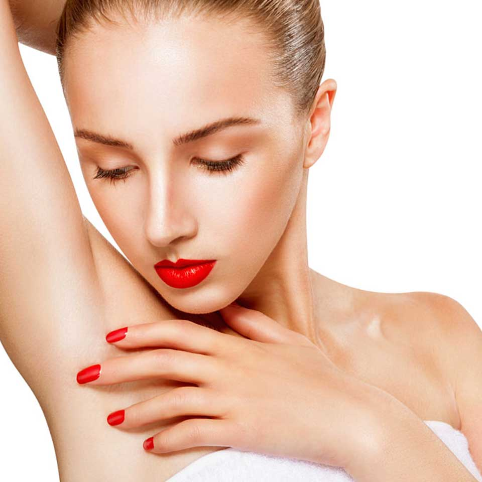 excessive sweating treatments to underarms